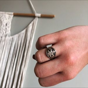 Native American Sterling Signed Ring